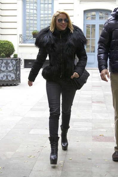 Shakira paseando por Madrid