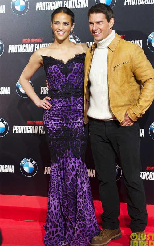 Tom Cruise y Paula Patton