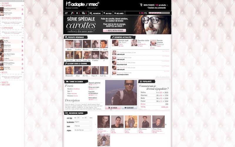 pagina chicas adoptauntio.es