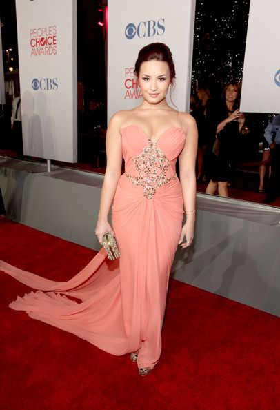 People Choice's Awards 2012 Demi Lovato