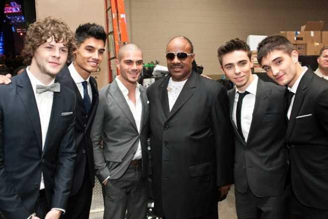 Premios Billboard 2012 The Wanted y Stevie Wonder
