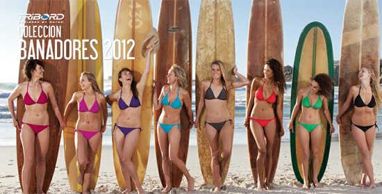 colección 2012 bikinis Decathlon Tribord