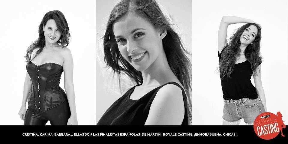 finalistas españolas Chica Martini 2012