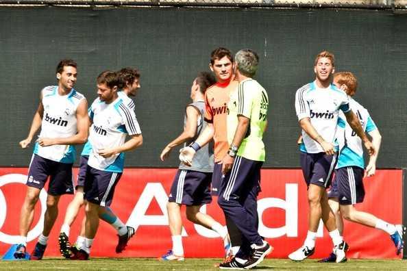 Real Madrid en Los Angeles 2012