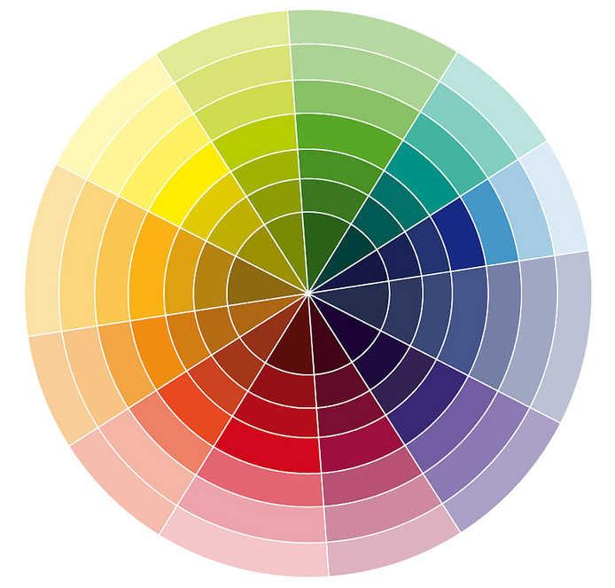combinación de colores para interiores