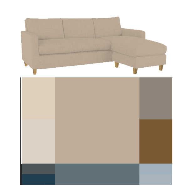 combinación colores para interiores