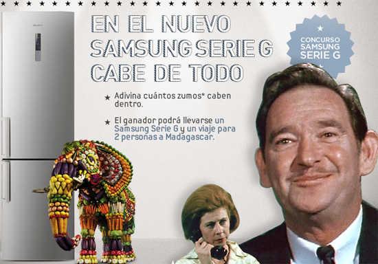 Concurso Samsung serie G