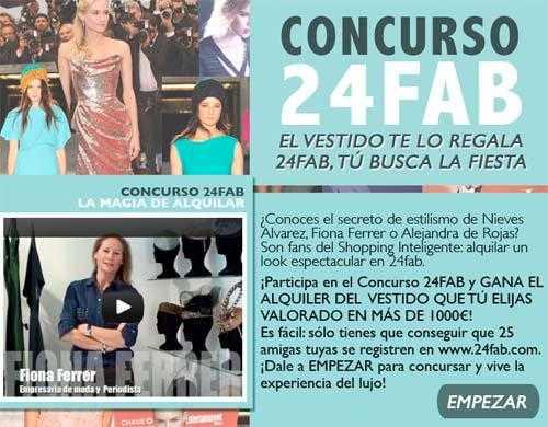 Concurso 24fab alquiler de vestido gratis