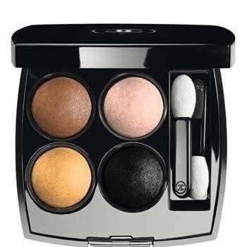 Les 4 Ombres maquillaje Chanel Navidad 2012