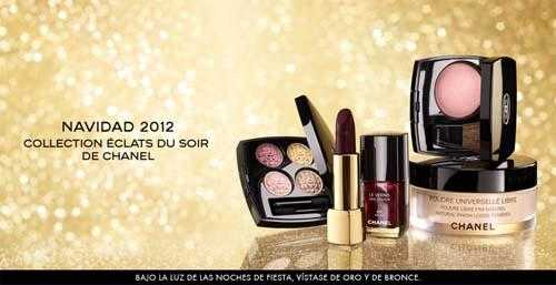 Maquillaje Navidad Chanel 2012