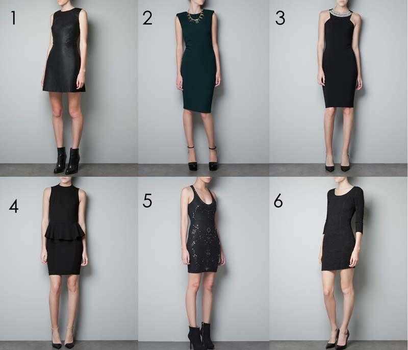 Vestidos de fiesta Zara 2012