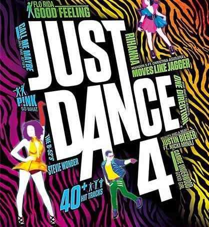 Just Dance 4 carátula