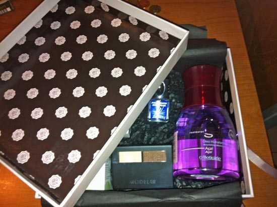 Caja Glossybox enero 2013