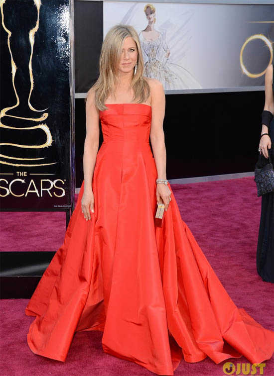 Oscars 2013 Jennifer Aniston