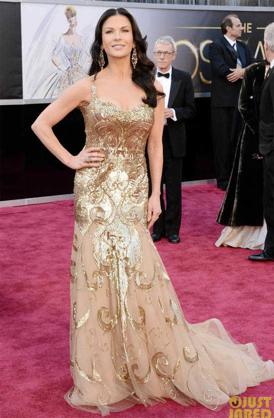 Oscars 2013 Catherine Zeta Jones