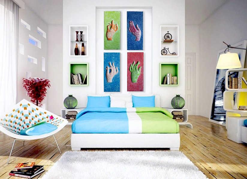 decoracion-colores-cuadros