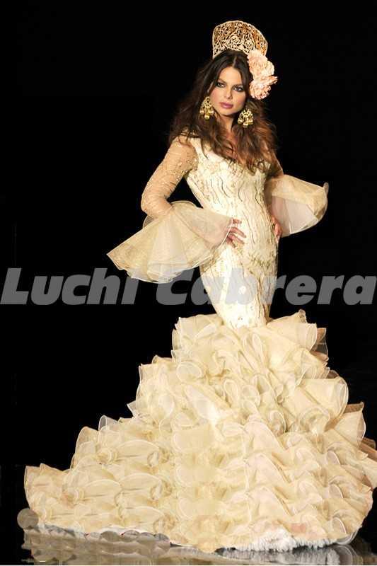 vestidos de novia rociero