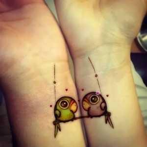 Ideas de tatuajes para parejas 1