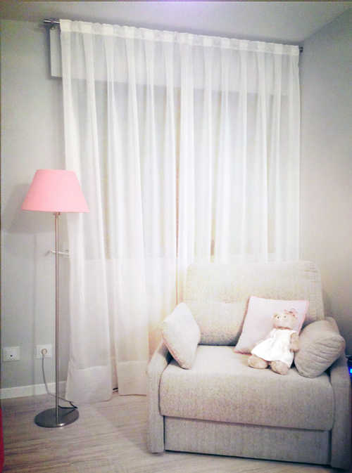 C mo combinar las cortinas de zara home for Cortinas bebe zara home