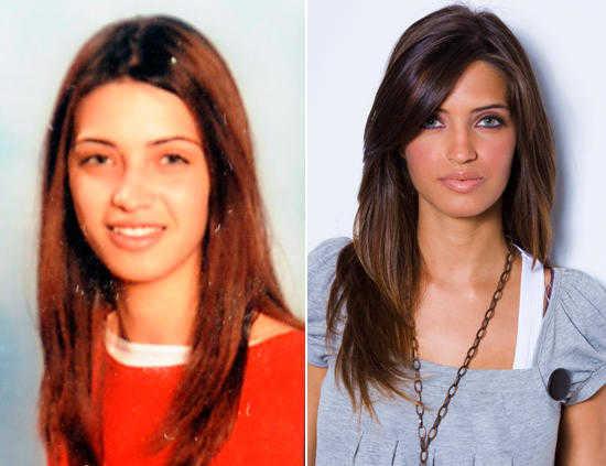 Sara Carbonero antes y después