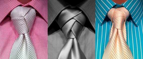 Cómo hacer el nudo de la corbata 1