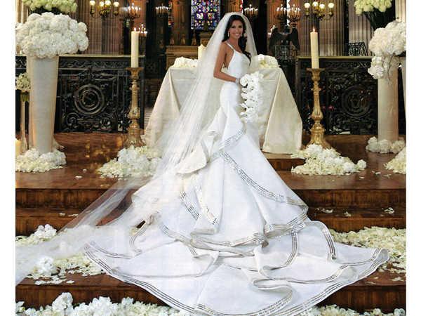 los 10 mejores vestidos de novia de las famosas