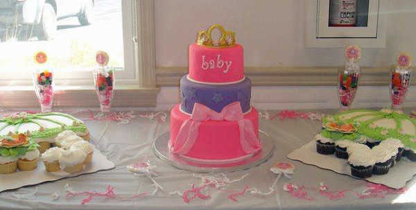 baby shower tarta
