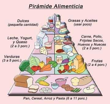 pirámide alimenticia 2