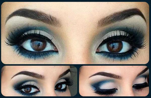 Cómo maquillar ojos azules 1