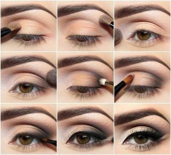 Como maquillar ojos marrones