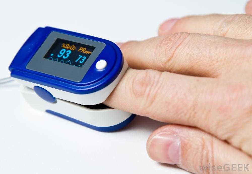 medir saturacion oxigeno