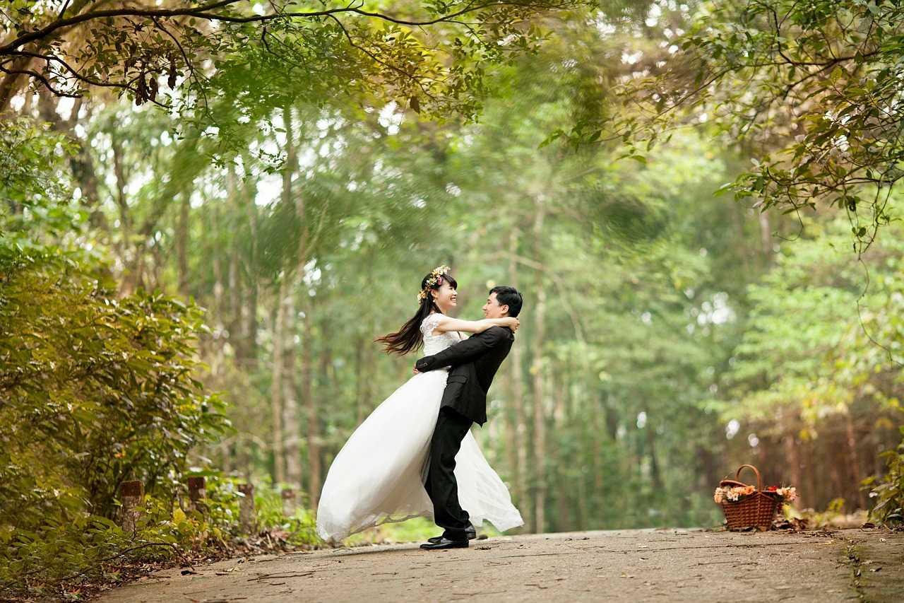 boda al ire libre