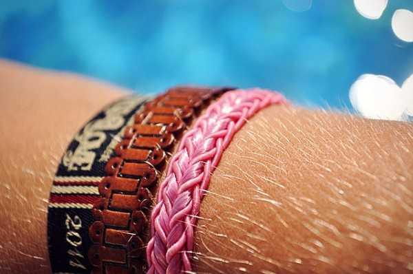 pulseras de nudos