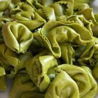 Tortellini de espinacas con verduras 2