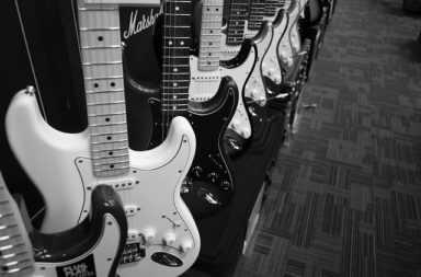 tocar la guitarra electrica