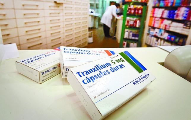 Tranxilium, prospecto y efectos secundarios 4