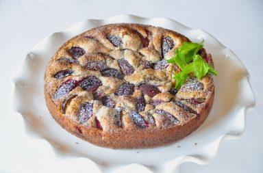 plum cake con nueces