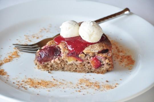 Postres deliciosos: Plum Cake de nueces 1