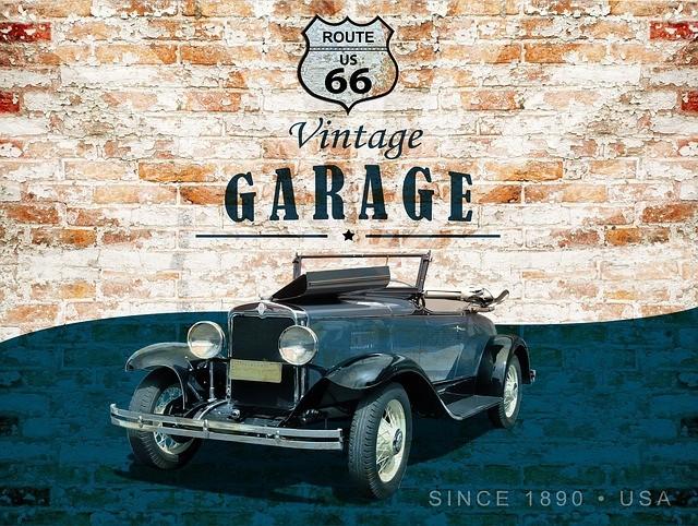 letrero vintage