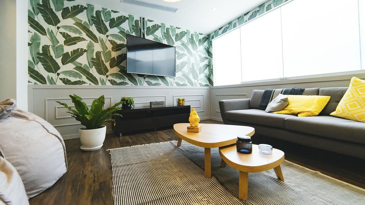 Como cambiar tu sala de estar utilizando solo textiles 1