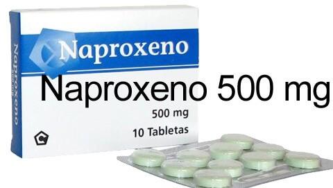 Naproxeno 500 mg 2