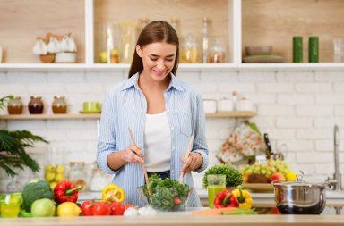 chica cocina recetas de dieta mediterranea
